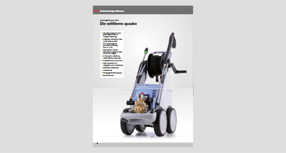 High-pressure cleaner Quadro 799 TST