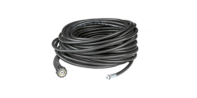 Basis high-pressure hose for telescopic lances