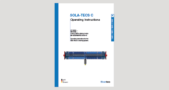 Operating instructions SOLA TECS C